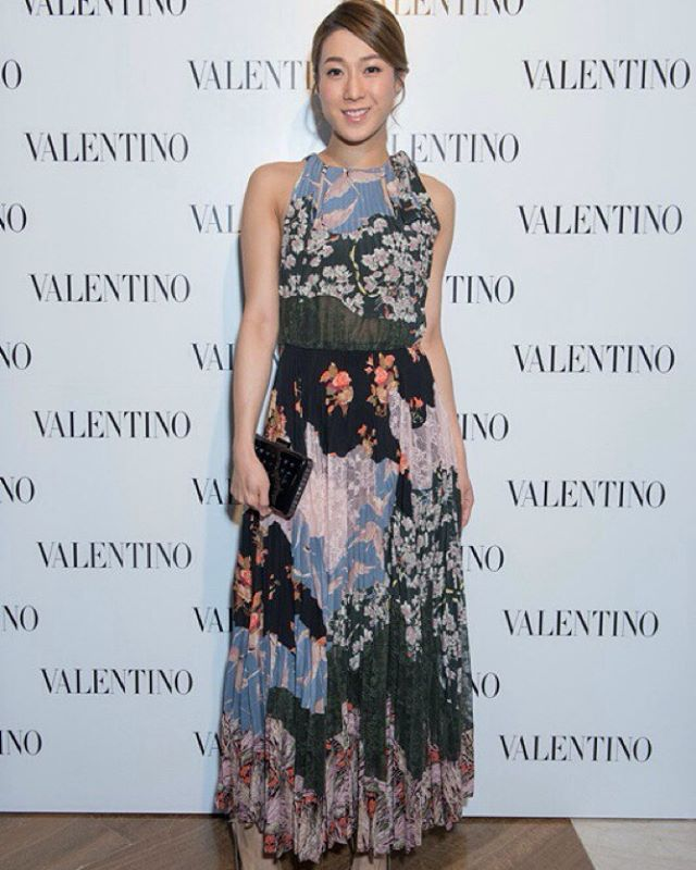 Celebrities For Valentino Charmaine Sheh Linda Chung Pakho Chau Jessica Jung Asian