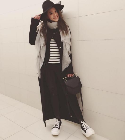 ChrissieChau_BlackMaxi
