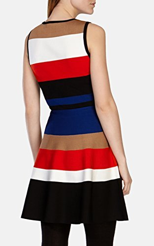 KarenMiller_ColorblockingDress_Model