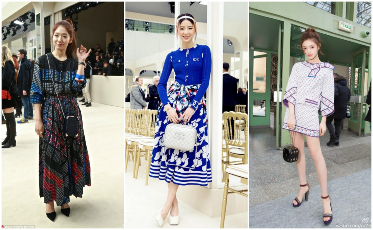 Chanel Inspired Looks: Park Shin Hye, Irene Kim, and Lin Yun